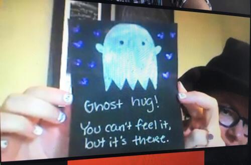 ghost hug web